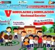 QUINTO SIMULACRO  ESCOLAR NACIONAL  SE EJECUTARÁ EL DÍA MIÉRCOLES 22 DE NOVIEMBRE.