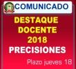 DESTAQUE DE DOCENTES 2018 - UGEL ANDAHUAYLAS.