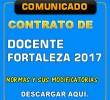 CONTRATO DE DOCENTE FORTALEZA 2017 - NORMAS Y MODIFICATORIAS