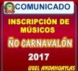 INVITACIÓN A DOCENTES MÚSICOS A PARTICIPAR DE LA UGEL EN EL ÑO CARNAVALÓN.