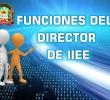 FUNCIONES ESTABLECIDAS DE DIRETORES EN LOS ARTS. 55 Y 58 DE LA LEY GENERAL DE EDUCACIÓN
