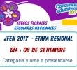 EJECUCIÓN DE LOS JUEGOS FLORALES ESCOLARES NACIONALES 2017 - ETAPA REGIONAL
