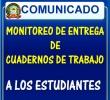 MONITOREO DE LA ENTREGA DE CUADERNOS DE TRABAJO A LOS ESTUDIANTES MEDIANTE EL MÓDULO RAPIMATE DE LA HERRAMIENTA DE GESTIÓN RAPINFO